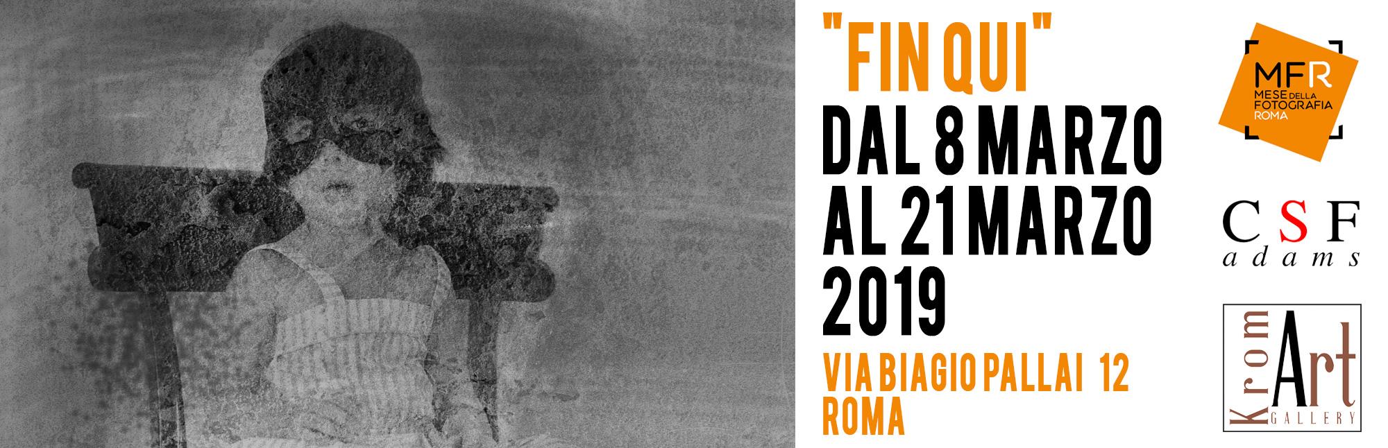 Mostra fotografica personale di gaia adducchio, durante il mese della fotografia di roma 2019 alla kromart gallery